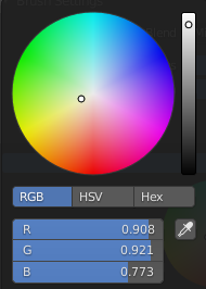 White with a bit of yellow in the color picker