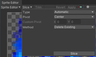 Unity will automatically slice sprite sheets