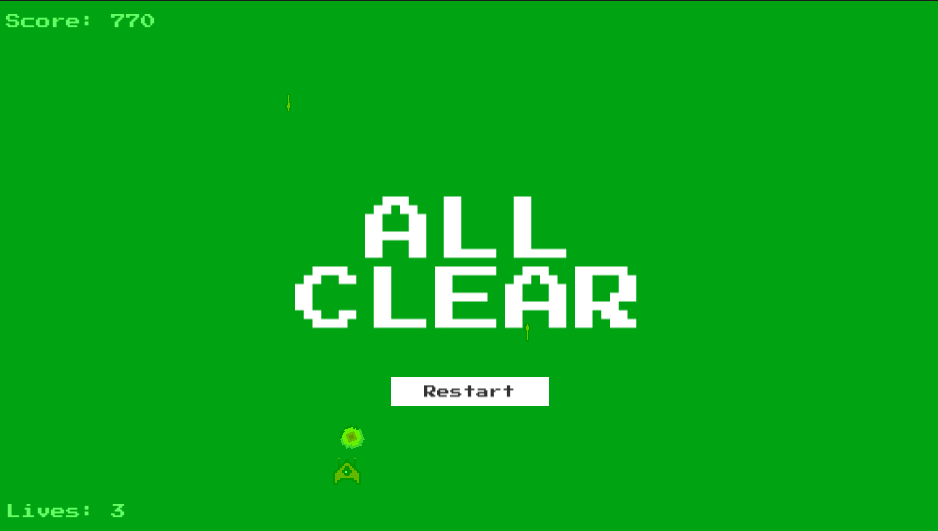 The All Clear panel