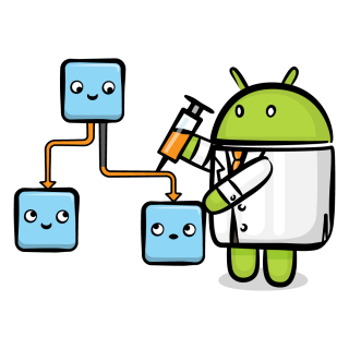 Android injecting dependencies image