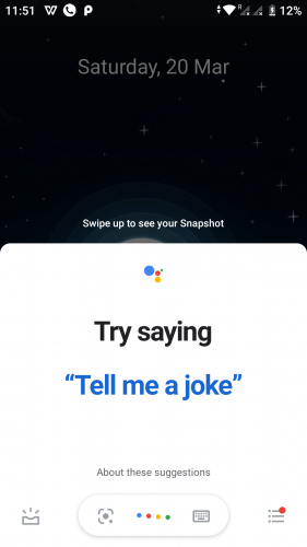Setting up Google Assistant