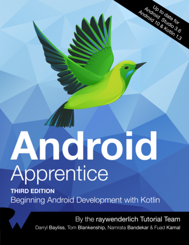 Cover image of Android Apprentice book