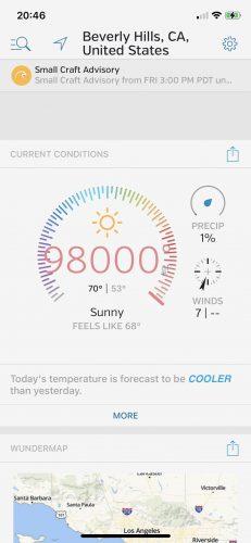 Modified Temperature