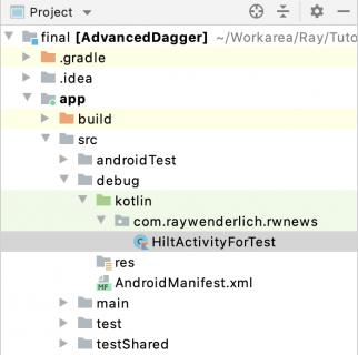 Debug Build Type.