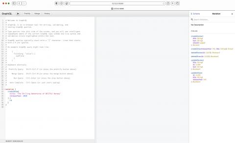 Updated GraphQL documentation