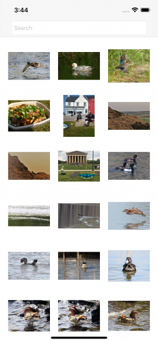 Flickr starter project photos