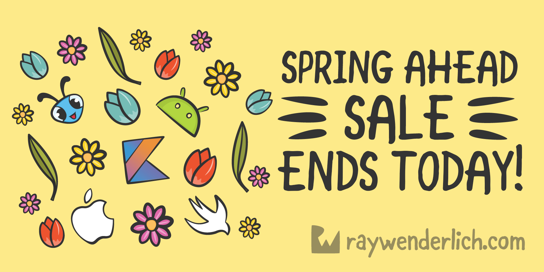 Spring Ahead Sale — Final Hours to Save 50% on Everything [FREE]