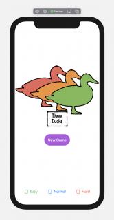 Three Ducks title screen preview