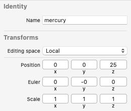 Node inspector for mercury