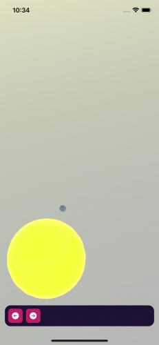 Mercury in the running app