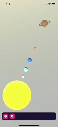 Sunlight in the running app