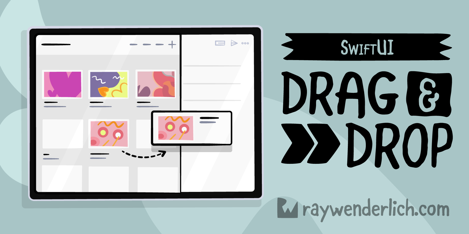 Drag and Drop Tutorial for SwiftUI [FREE]