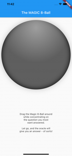 A gray shadow over the sphere