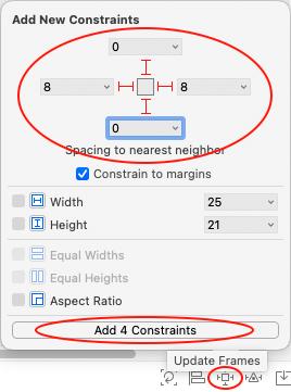 Add constraints to the bio label
