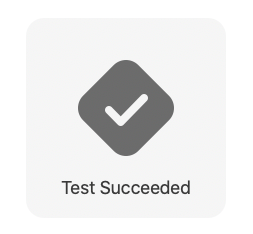 Test Success without any assertions