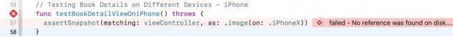 iPhone Portrait test failure