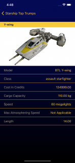 Finished starship detail