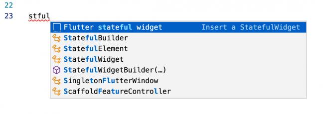 Shortcut for creating a stateful widget