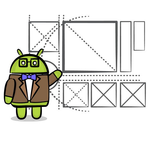 Android teaching diagram